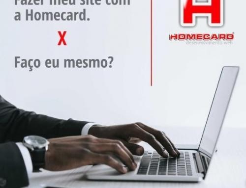 Fazer meu Site com a Homecard